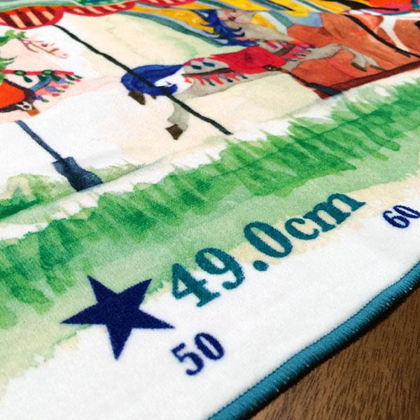 画像5: くまのがっこう【MERRY GO ROUND】ブルー:バスタオル単品