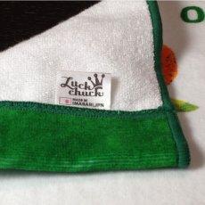 画像4: はらぺこあおむし|名前入り今治製バスタオル|EC-CLOCK:ECクロック|グリーン (4)
