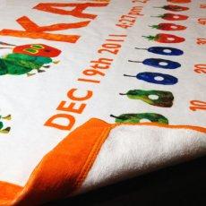 画像3: はらぺこあおむし|名前入り今治製バスタオル|FRUIT:フルーツ|オレンジ (3)