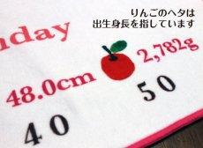 画像2: くまのがっこう|名前入り今治製バスタオル|JK-CLOCK:JKクロック|ピンク (2)