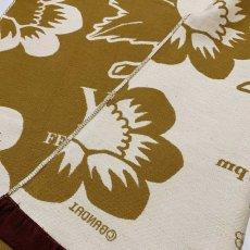 画像5: くまのがっこう|名前入り今治製コットンブランケット|おくるみサイズ|FLOWERS:フラワーズ|キャラメルイエロー (5)