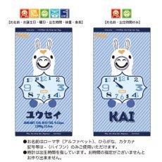 画像4: ロディ|名前入り今治製バスタオル|RY-CLOCK:RYクロック|ライトブルー (4)