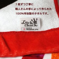 画像4: ロディ|名前入り今治製バスタオル|MAGAZINE:マガジン|レッドグリーン (4)
