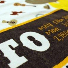 画像3: ロディ|名前入り今治製バスタオル|SKETCH:スケッチ|ウエスタン (3)