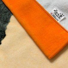 画像4: レオ・レオニ|名前入り今治製バスタオル|Frederick:フレデリック|オレンジ (4)