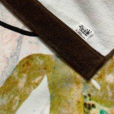 画像5: レオ・レオニ|名前入り今治製バスタオル|Swimmy:スイミー|ブラウン (5)