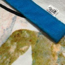 画像5: レオ・レオニ|名前入り今治製バスタオル|Swimmy:スイミー|ブルー (5)