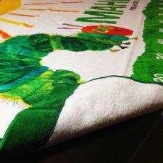 画像3: はらぺこあおむし|名前入り今治製スポーツタオル|SUN:サン|グリーン (3)