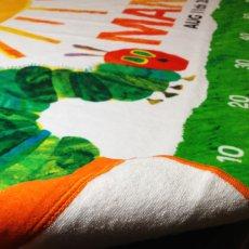 画像3: はらぺこあおむし|名前入り今治製スポーツタオル|SUN:サン|オレンジ (3)