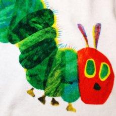 画像3: はらぺこあおむし【EC-CLOCK】レッド:Tシャツ+スポーツタオルセット (3)