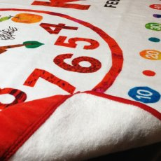 画像4: はらぺこあおむし【EC-CLOCK】レッド:Tシャツ+スポーツタオルセット (4)