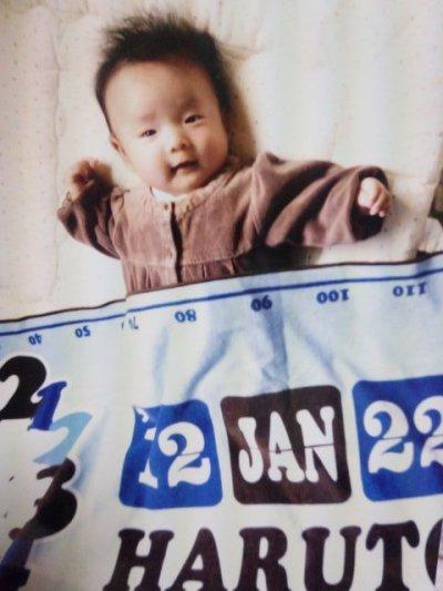 画像2: Luck*chuck|名前入り今治製バスタオル|CUTE CLOCK:キュートクロック|ブルー