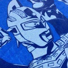 画像3: ウルトラマン|名前入り今治製バスタオル|ultra 8 HEROES:ウルトラ8ヒーローズ|ブルー (3)
