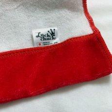 画像4: かいじゅうステップ|名前入り今治製バスタオル|KAIJU BALLOON:かいじゅうバルーン|レッド (4)