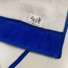 画像4: かいじゅうステップ|名前入り今治製バスタオル|KAIJU BALLOON:かいじゅうバルーン|ブルー (4)