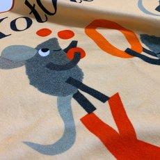 画像3: レオ・レオニ|名前入り今治製バスタオル|Let's Play ABC:えいごであそぼうよ|レッド (3)
