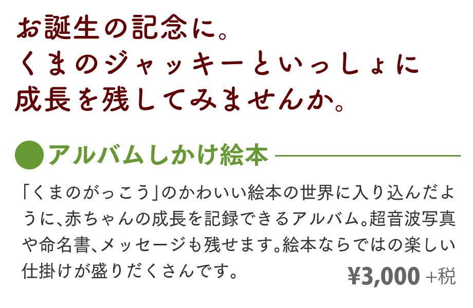 くまのがっこう アルバムしかけ絵本01