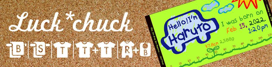 Luck:chuck商品一覧