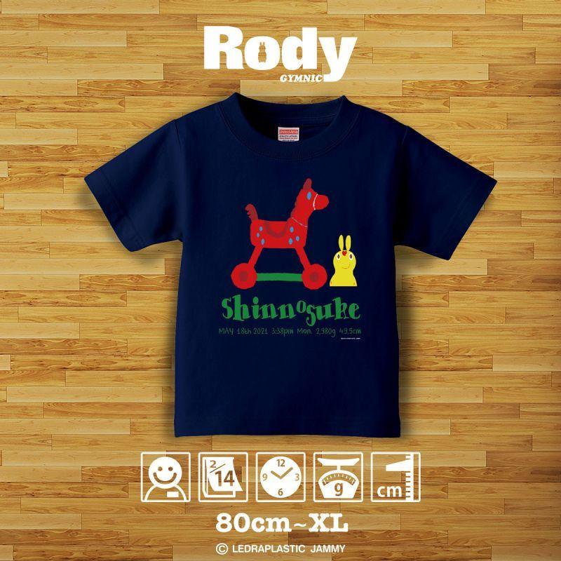 画像1: ロディ|名前入りTシャツ|SKETCH:スケッチ|トイ・ネイビー (1)