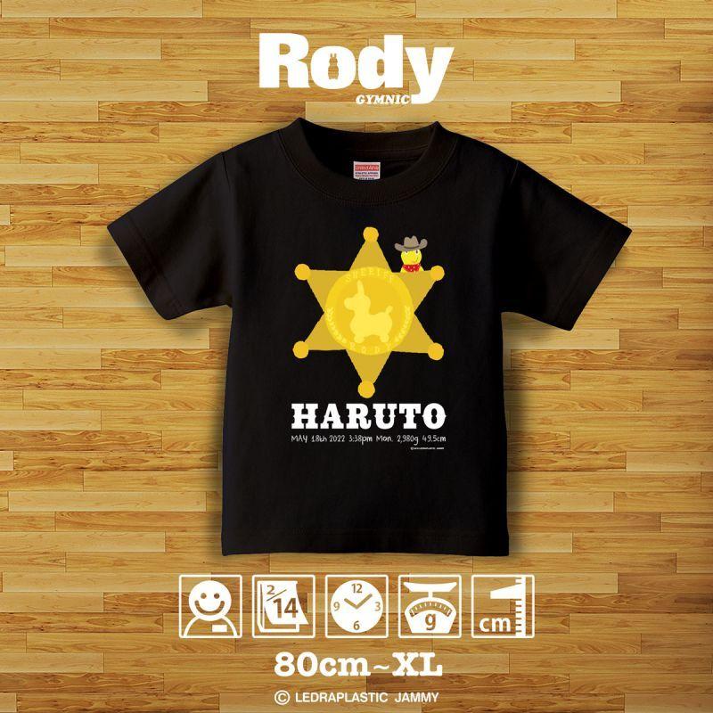 画像1: ロディ|名前入りTシャツ|SKETCH:スケッチ|ウエスタン・ブラック (1)