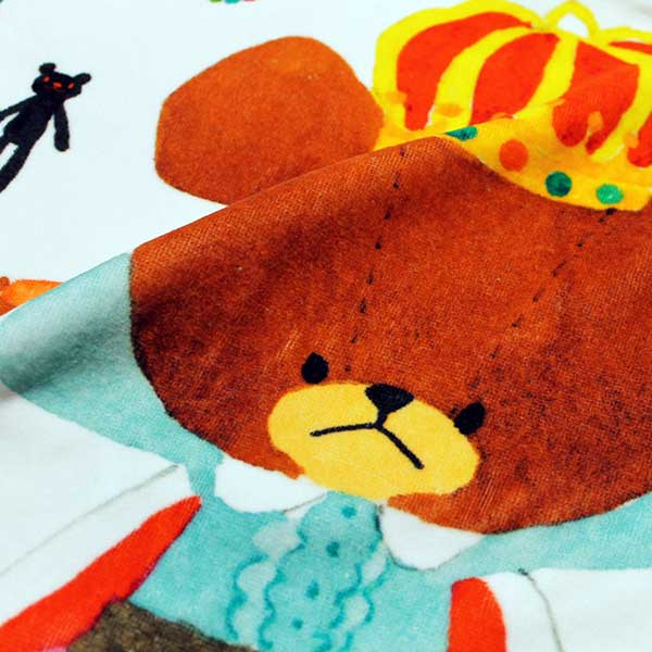 画像3: くまのがっこう【TREASURE】ピンク:バスタオル単品
